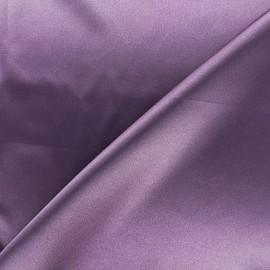 Tissu doublure Duchesse - parme x 10cm