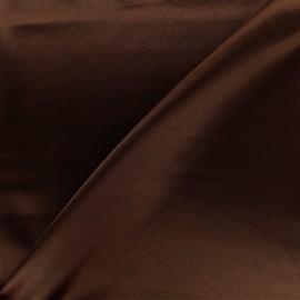 Duchesse lining fabric - chocolate x 10cm