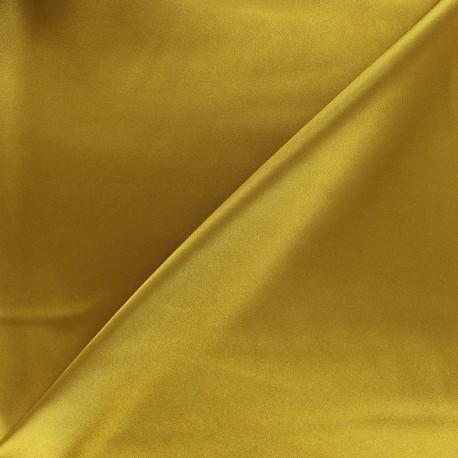 Duchesse lining fabric - old gold x 10cm