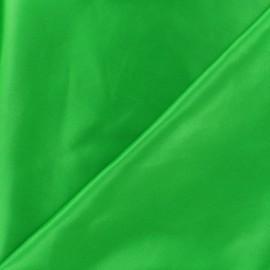 Tissu doublure Duchesse - vert vif x 10cm