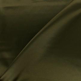 Duchesse lining fabric - dark green olive x 10cm