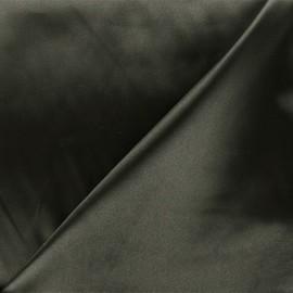 Duchesse lining fabric - dark green grey x 10cm