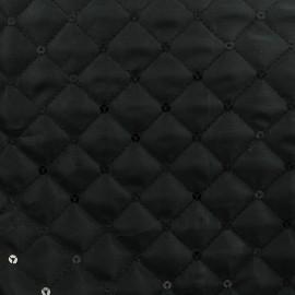 Tissu Matelassé paillettes x 10cm