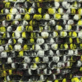 Tissu Lainage vert x 10cm