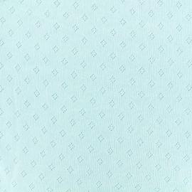 Tissu Maille coton Ajouré x 10cm