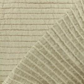 Oeko-Tex Seralino linen canvas Fabric - linen x 10cm