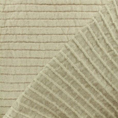 Tissu toile lin Seralino - lin