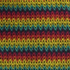Knitted Folk Fabric x 10cm