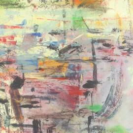 Tissu Satin artiste x 10cm