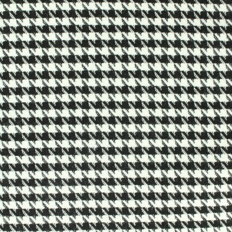 Woolen Fabric black and white x 10cm