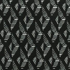 Tissu Jersey jacquard graphique x 10cm