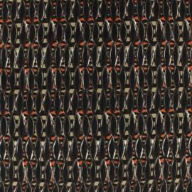 Tissu Polyester grain de café x 10cm