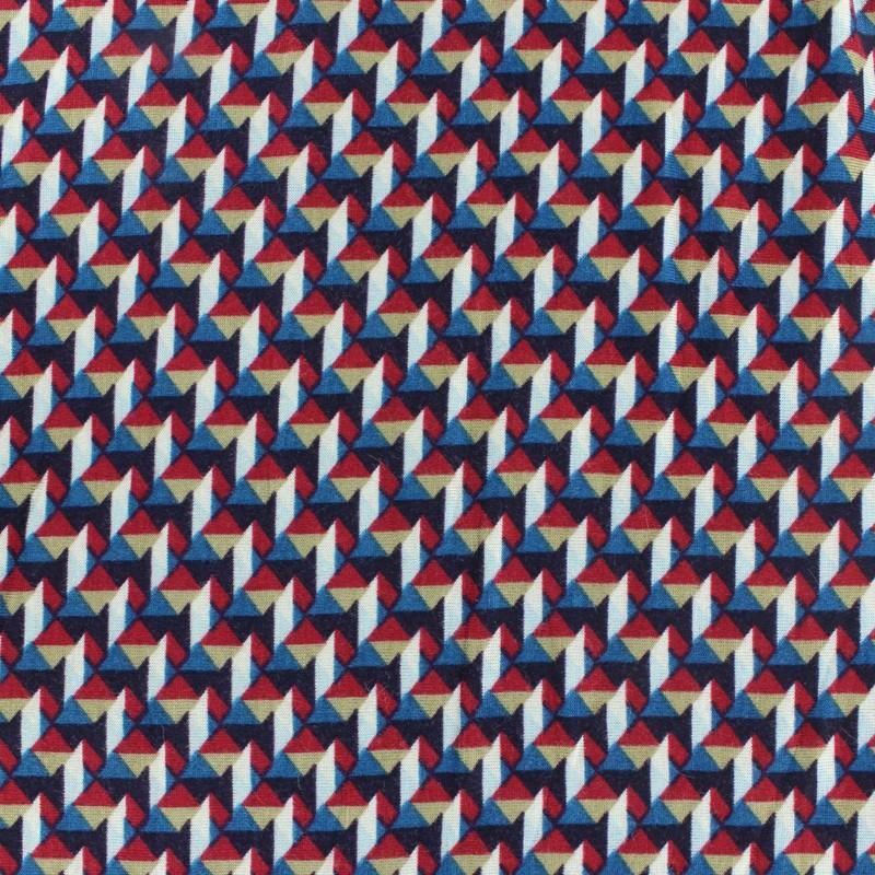 Tissu Jersey Viscose Graphique x 10cm - Ma Petite Mercerie 11601c7d954