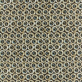 Tissu Microfibre Rétro beige x 10cm