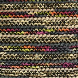 Tissu Lainage brodé x 10cm