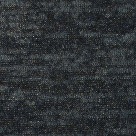 Tissu Maille Lurex marine x 10cm