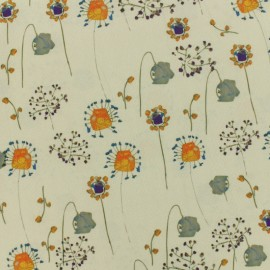 Polyester Flower Field Fabric x 10cm