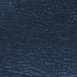 ♥ Coupon 270 cm X 145 cm ♥ Tissu Jacquard bleu irisé