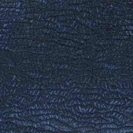 Iridescent Blue Jacquard Fabric x 10cm