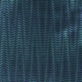 Tissu Jacquard vague x 10cm