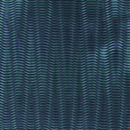 Wave Jacquard Fabricx 10cm