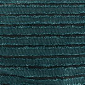 Tissu Maille fantaisie canard x 10cm