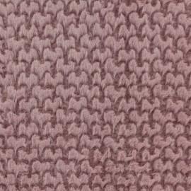 Tissu Fourrure coeur x 10cm