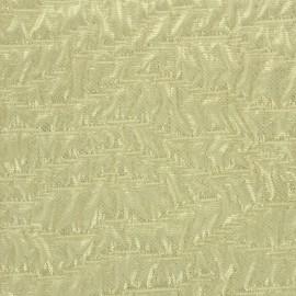 ♥ Coupon 270 cm X 145 cm ♥ Jacquard iridescent gold Fabric