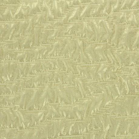 Tissu Jacquard irisé doré x 10cm