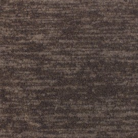 Chocolate lurex knitted fabric x 10cm