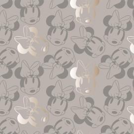 Tissu coton Camelot fabrics Minnie Mouse - outline x 10cm