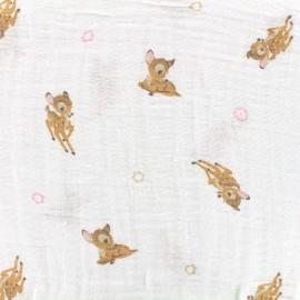 Tissu double gaze de coton Camelot Fabrics Bambino - bambi x 10cm