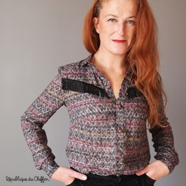 Sewing pattern République du Chiffon Blouse - Johanna