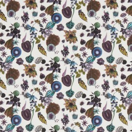 Tissu Liberty - Floral Earth C x 10cm