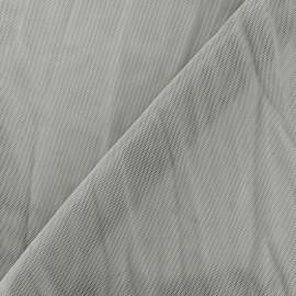 Tulle souple - gris  x 10cm