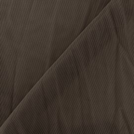 Flexible tulle fabric - brown x10cm