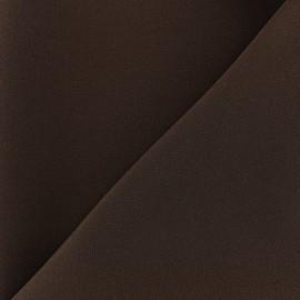 ♥ Coupon 180 cm X 145 cm ♥ Heavy crepe fabric - brownie