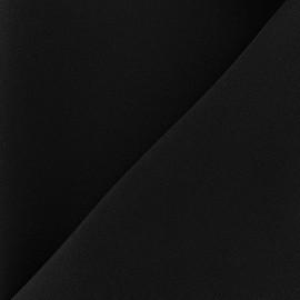 Tissu crêpe lourd Mirla - noir x 10cm