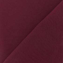 Tissu crêpe lourd Mirla - sangria x 10cm