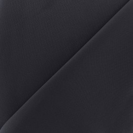 Thick lycra fabric Fuji - navy x 10cm