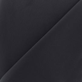 Thick lycra fabric Fuji - navy x 10cm