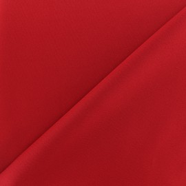 Thick lycra fabric Fuji - scarlet red x 10cm