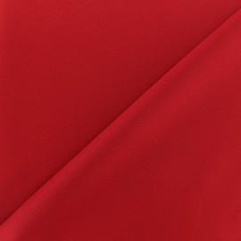 Tissu Lycra épais Fuji - rouge écarlate x 10cm