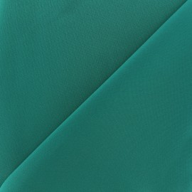Tissu Lycra épais Fuji - émeraude x 10cm