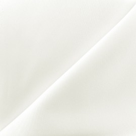 Thick lycra fabric Fuji - ecru x 10cm