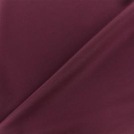 Tissu Lycra épais Fuji - lie de vin x 10cm