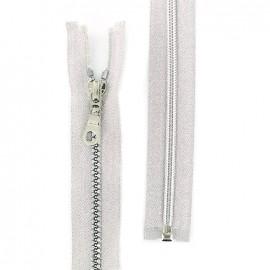 Zipper fastener lurex Z96 - silver