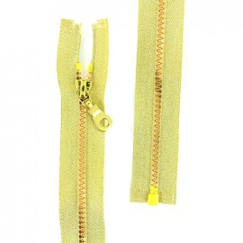 Zipper fastener lurex Z96 - gold