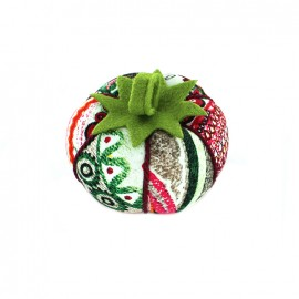 Tomato pin cushion Ethnic - red