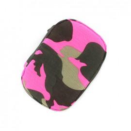 Nécessaire de couture Camouflage - fuchsia